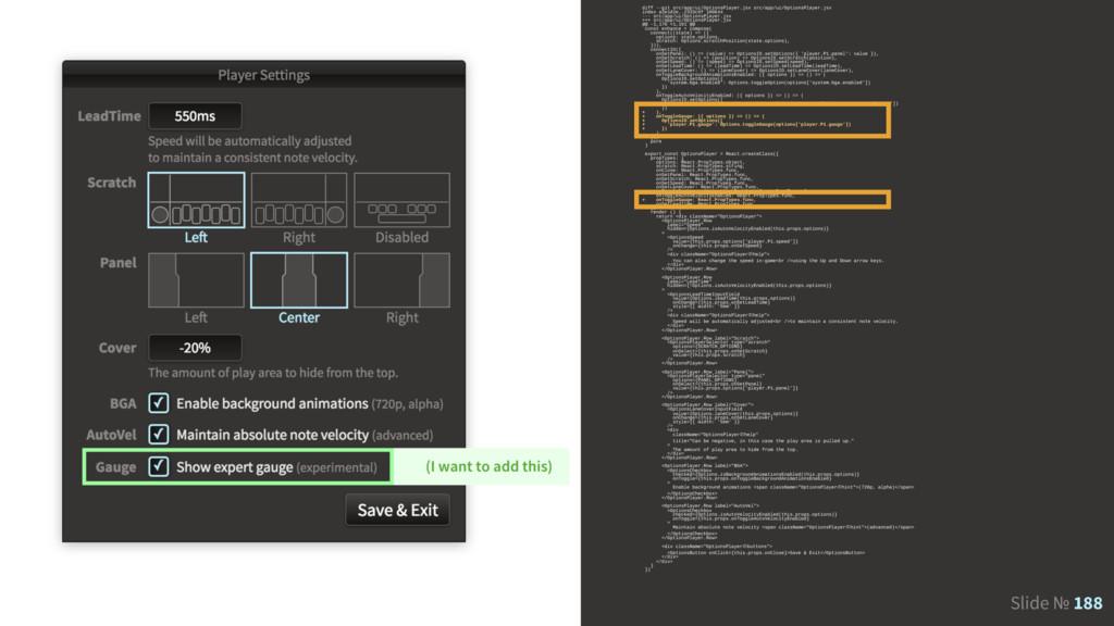 Slide № 188 diff --git src/app/ui/OptionsPlayer...