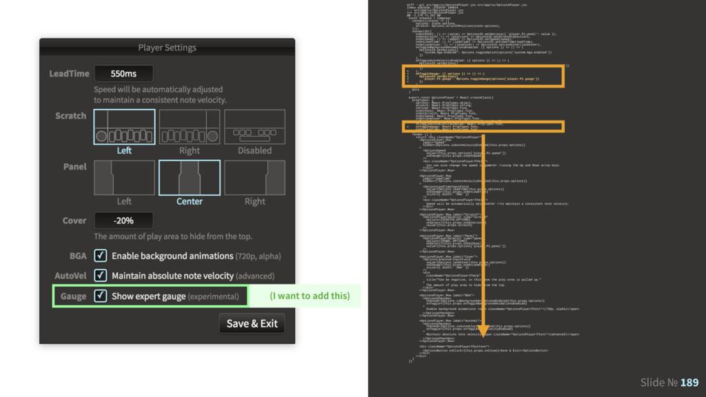 Slide № 189 diff --git src/app/ui/OptionsPlayer...