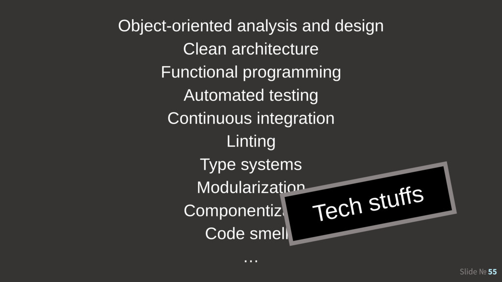 Slide № 55 Object-oriented analysis and design ...