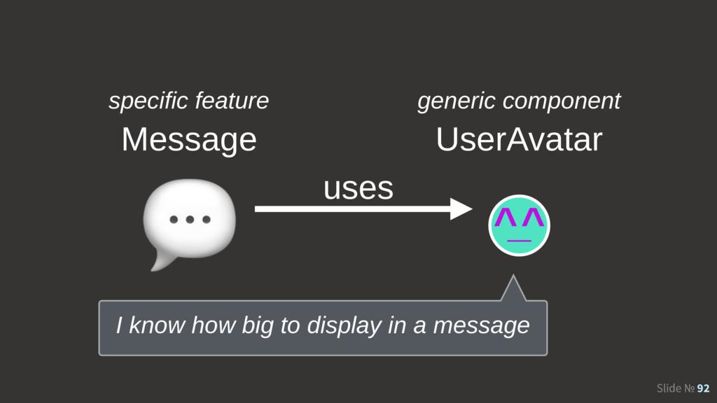 Slide № 92 UserAvatar  uses specific feature ge...