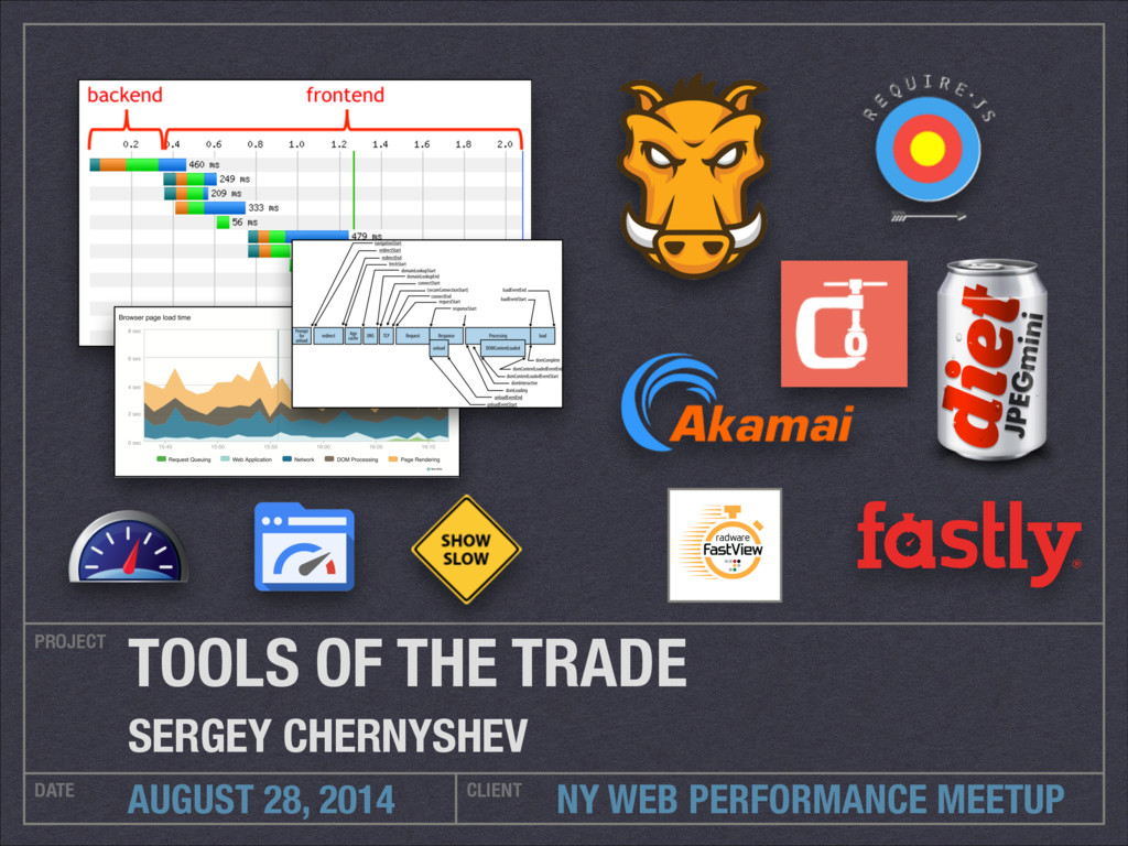 NY WEB PERFORMANCE MEETUP PROJECT DATE CLIENT A...