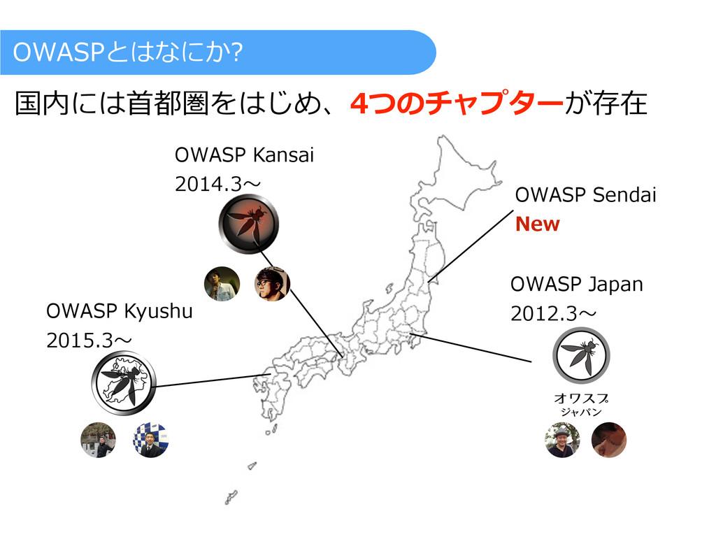 OWASP Kyushu  2015.3〜~ OWASP Kansai ...