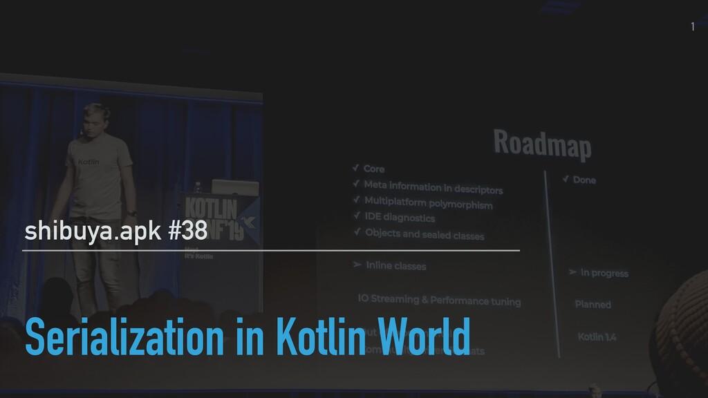 Serialization in Kotlin World shibuya.apk #38 1