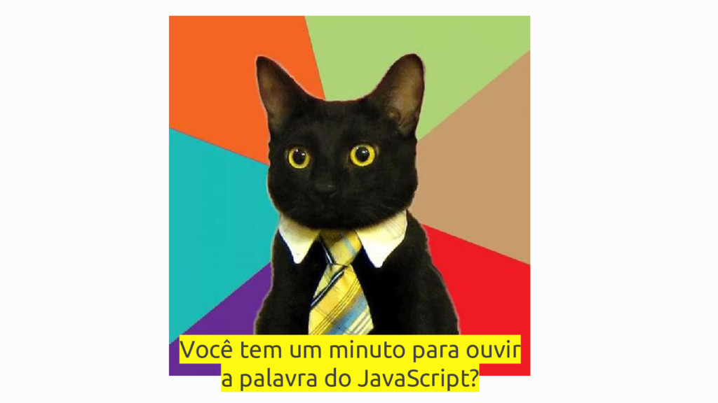 Você tem um minuto para ouvir a palavra do Java...