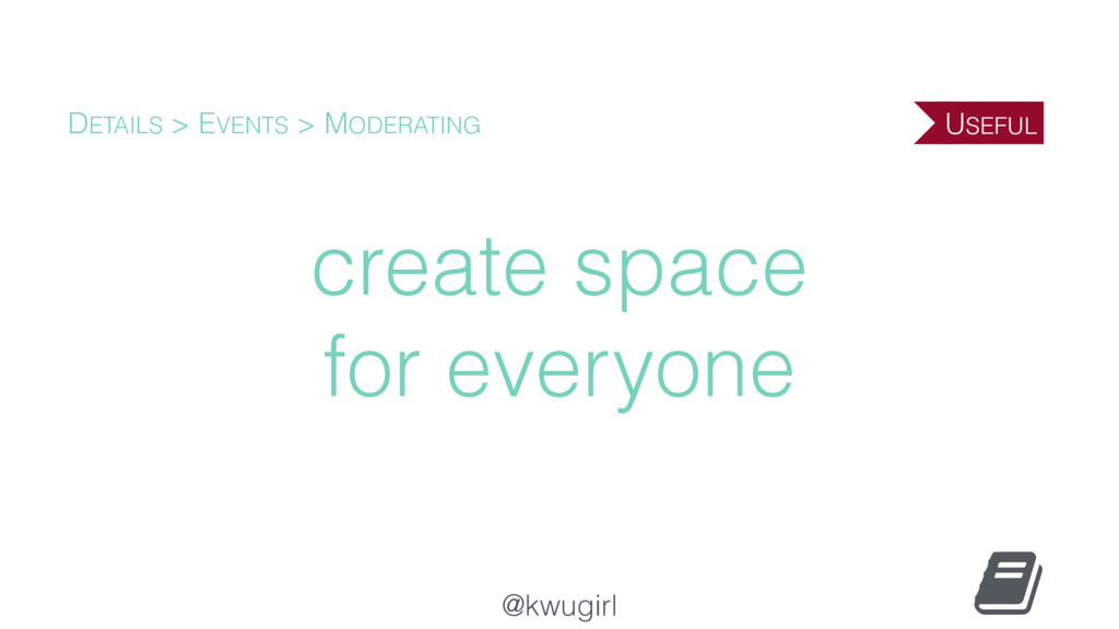 @kwugirl create space