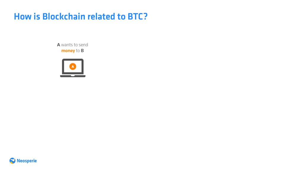 How is Blockchain related to BTC?