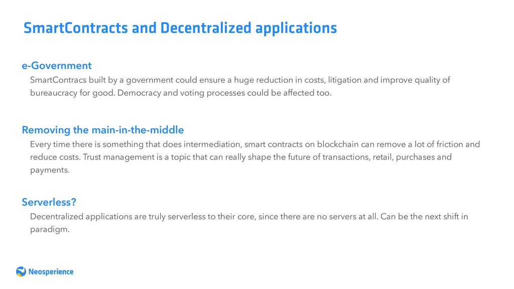 e-Government SmartContracts and Decentralized a...