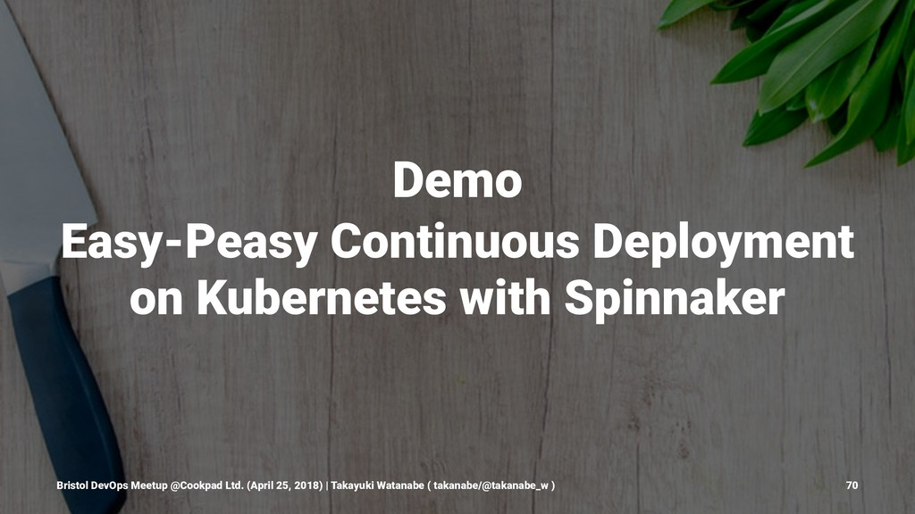 Demo Easy-Peasy Continuous Deployment on Kubern...