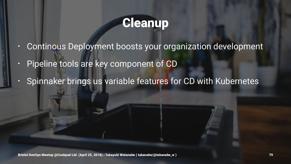 Cleanup • Continous Deployment boosts your orga...