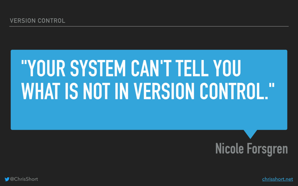 """YOUR SYSTEM CAN'T TELL YOU WHAT IS NOT IN VERS..."