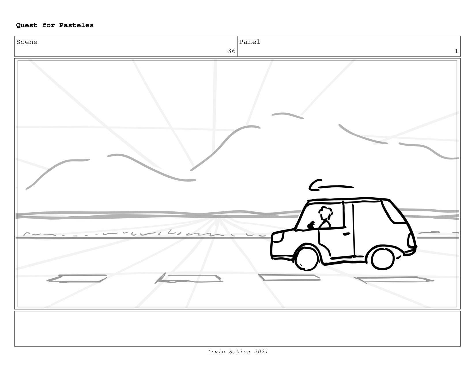 Scene 39 Panel 1 Quest for Pasteles Irvin Sahin...