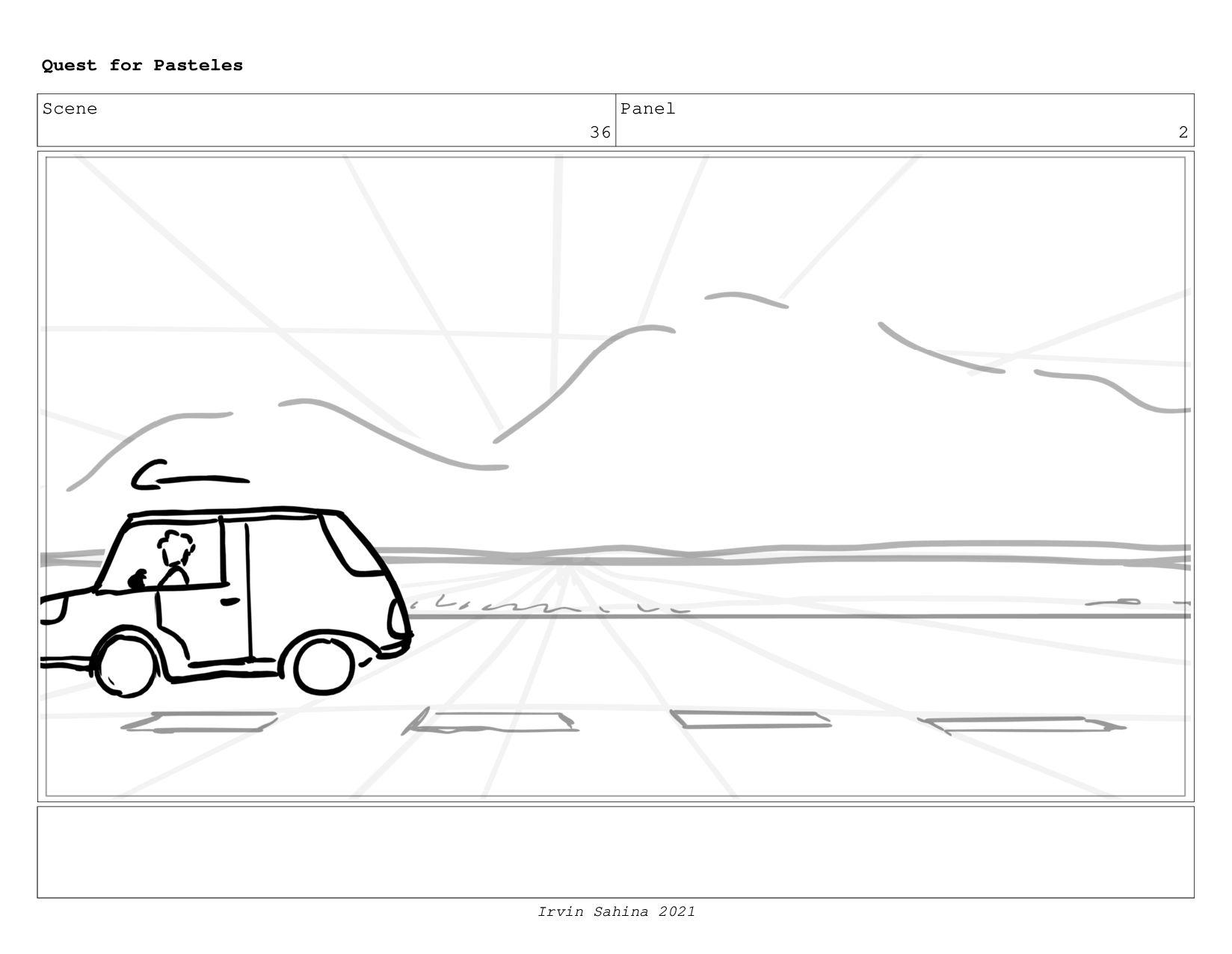 Scene 40 Panel 1 Quest for Pasteles Irvin Sahin...