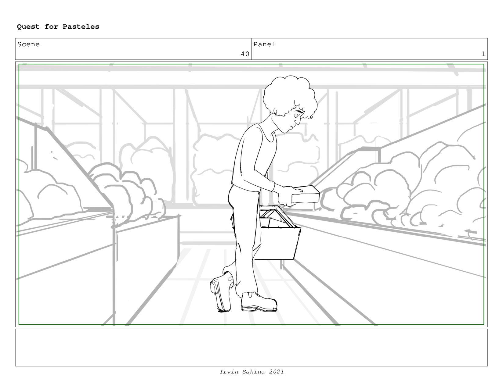 Scene 41 Panel 2 Quest for Pasteles Irvin Sahin...