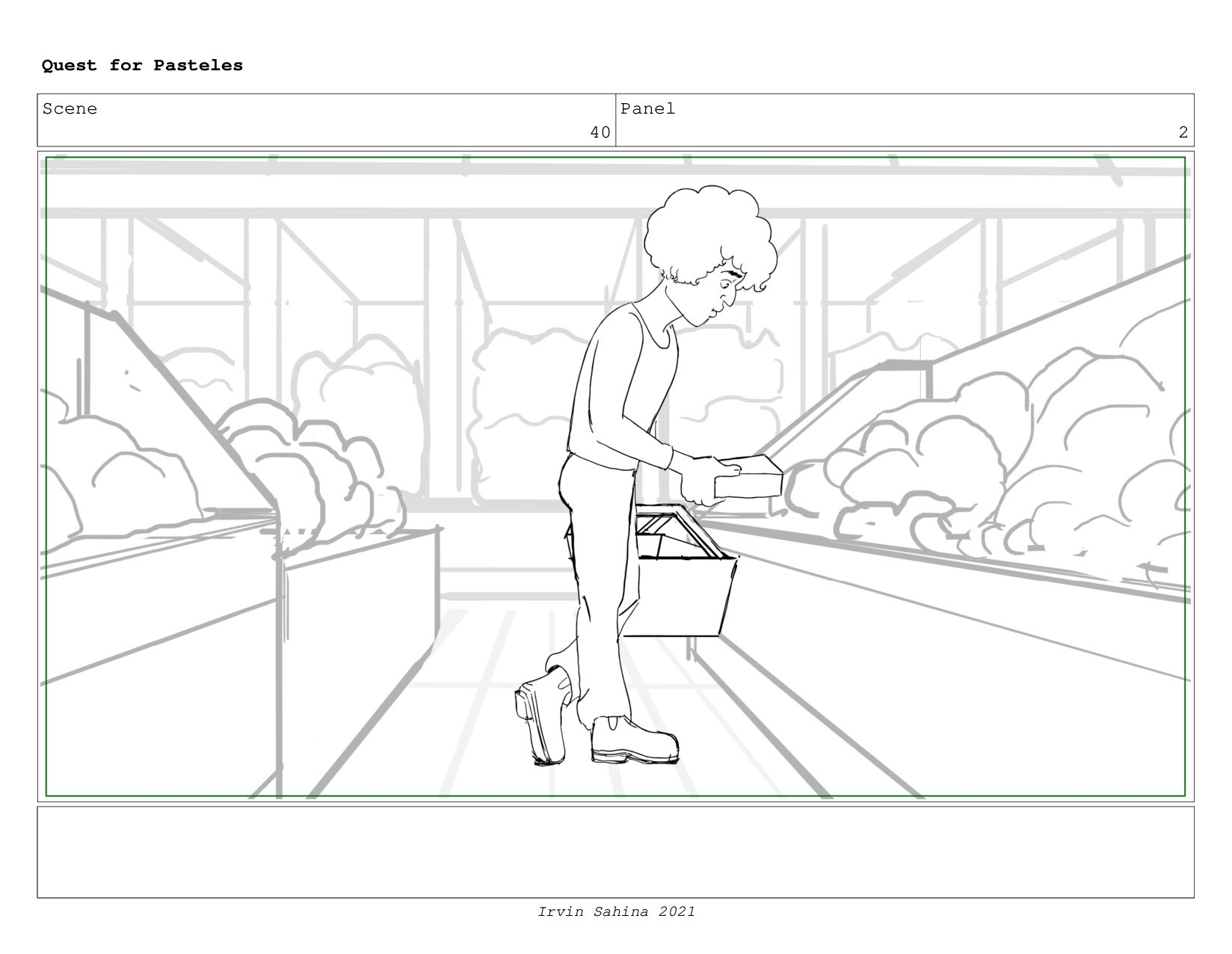 Scene 41 Panel 3 Quest for Pasteles Irvin Sahin...