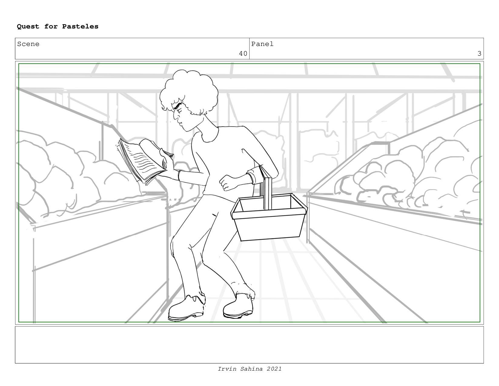 Scene 41 Panel 4 Quest for Pasteles Irvin Sahin...