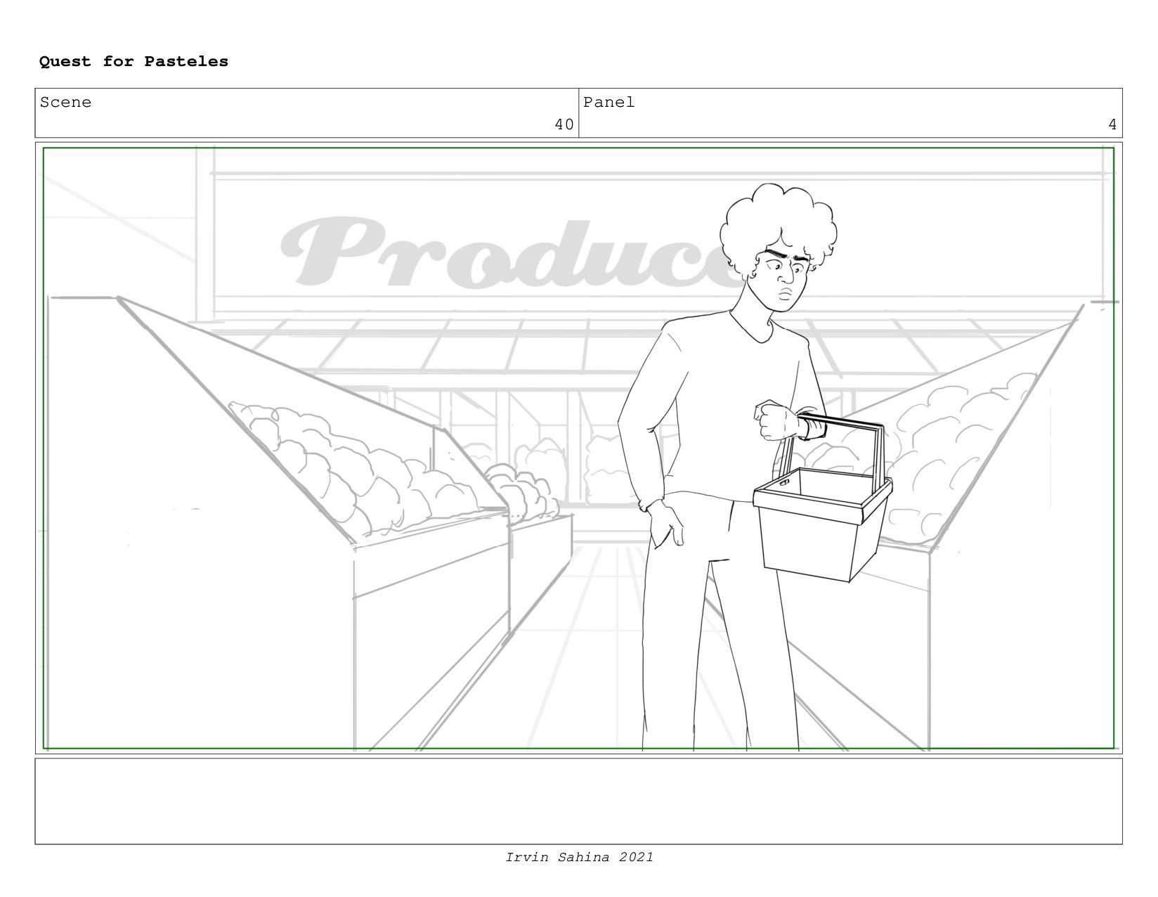 Scene 41 Panel 5 Quest for Pasteles Irvin Sahin...