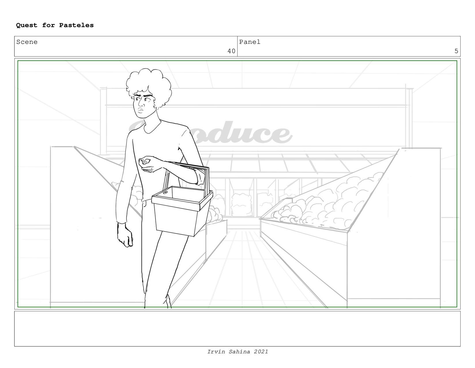 Scene 41 Panel 6 Quest for Pasteles Irvin Sahin...