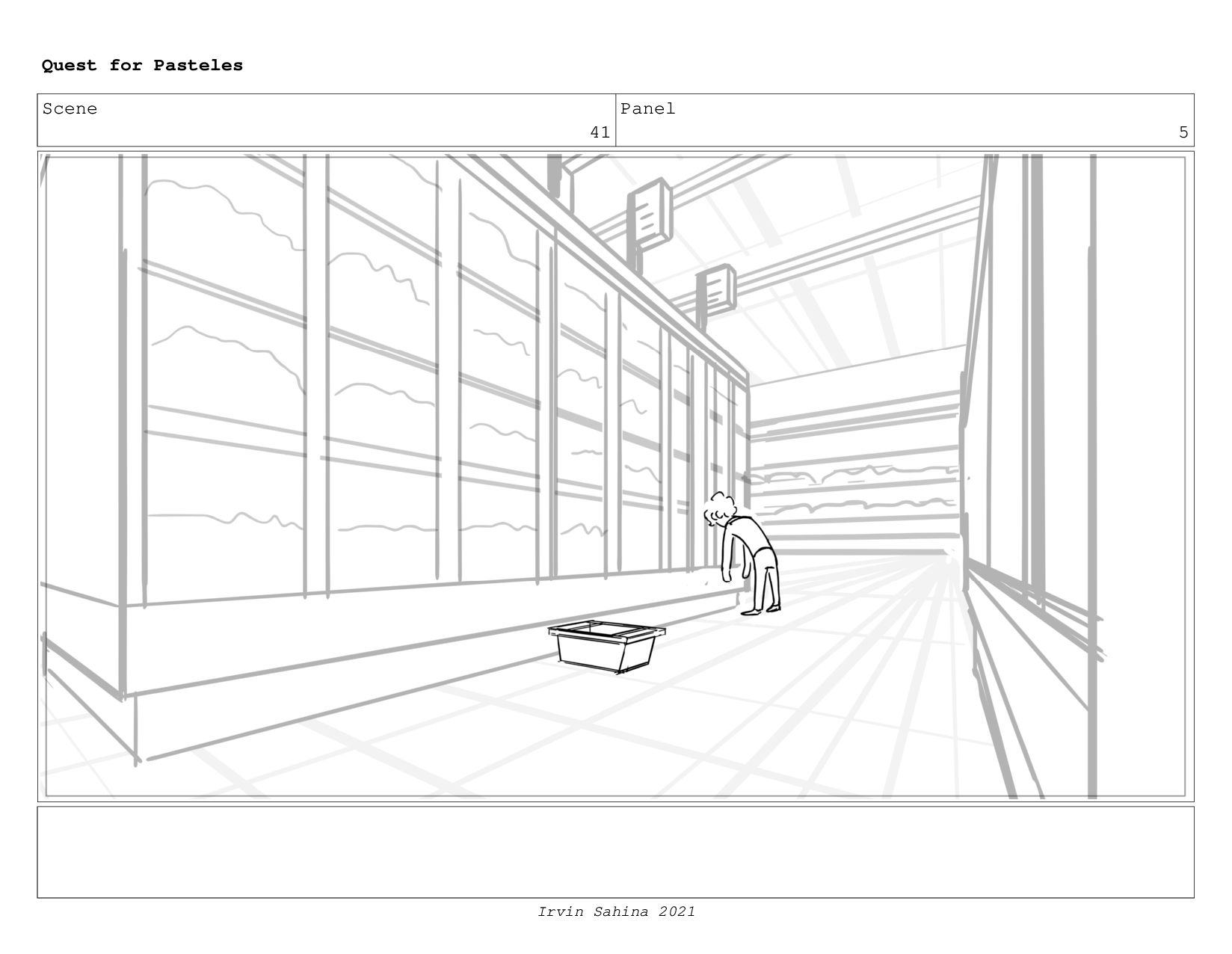 Scene 44 Panel 1 Quest for Pasteles Irvin Sahin...