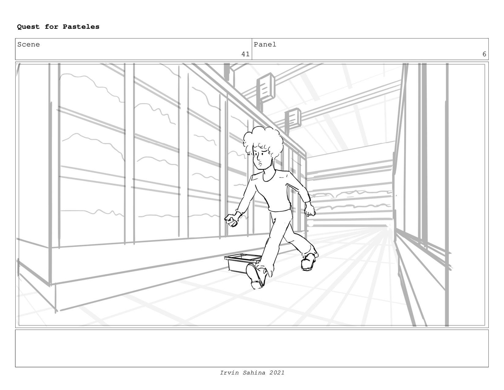 Scene 44 Panel 2 Quest for Pasteles Irvin Sahin...