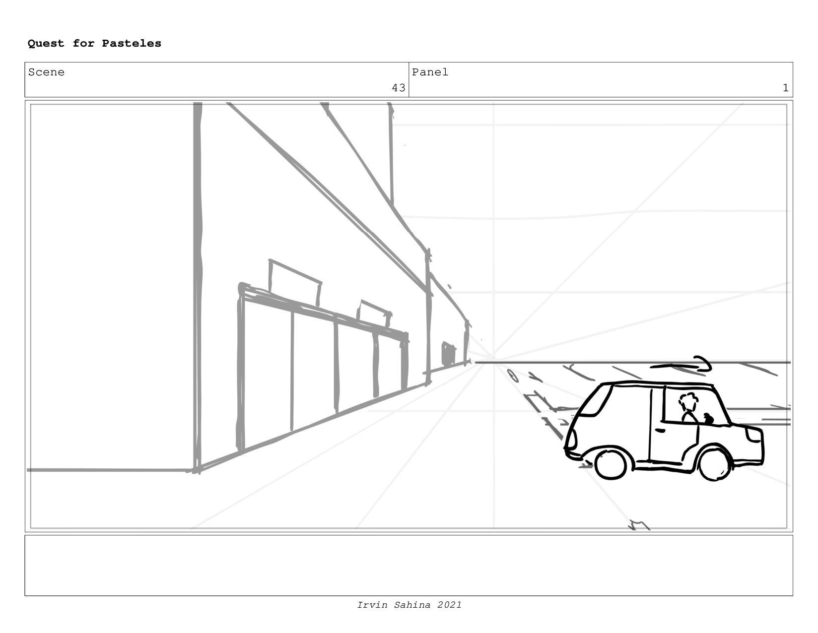 Scene 45 Panel 2 Quest for Pasteles Irvin Sahin...