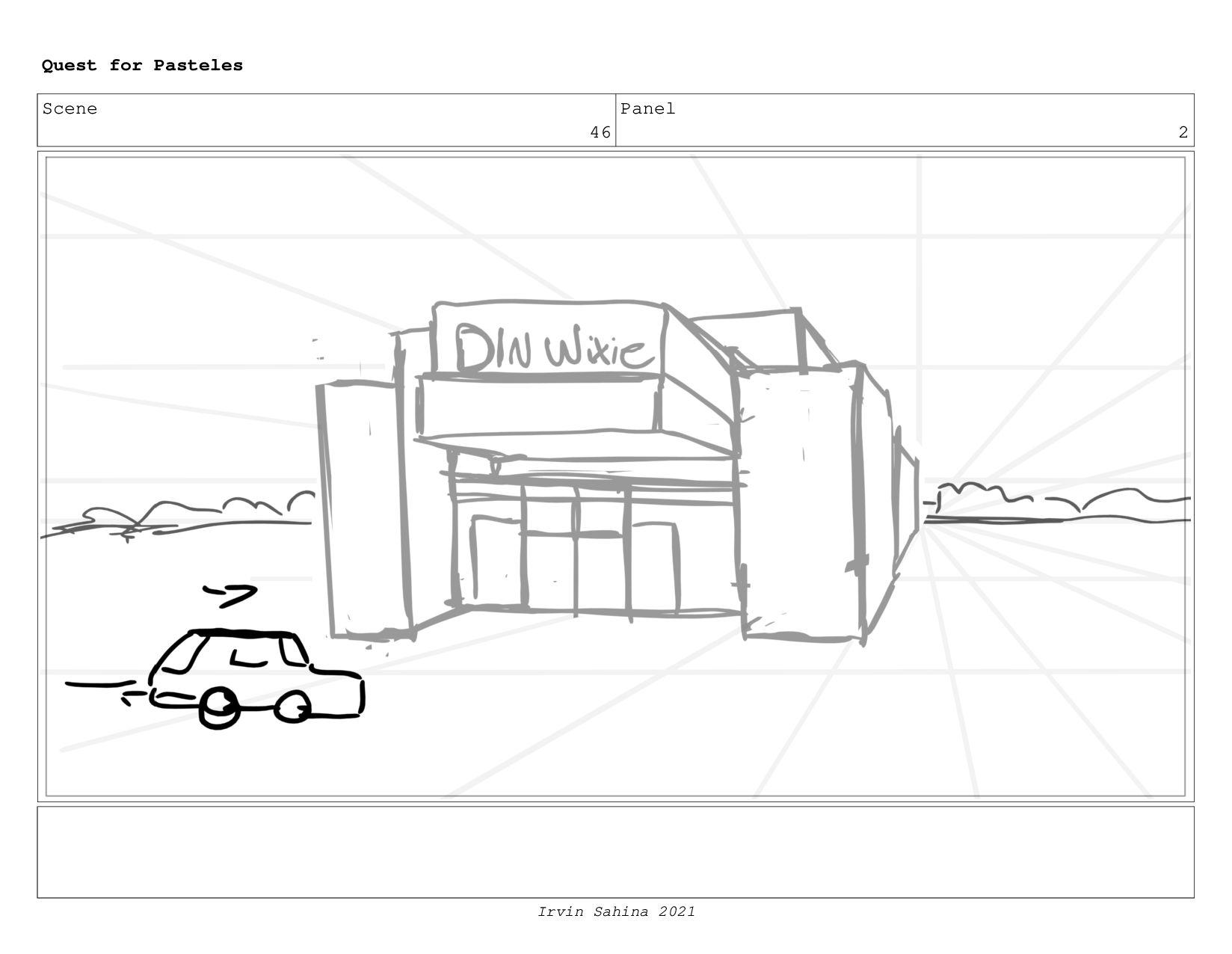 Scene 47 Panel 5 Quest for Pasteles Irvin Sahin...