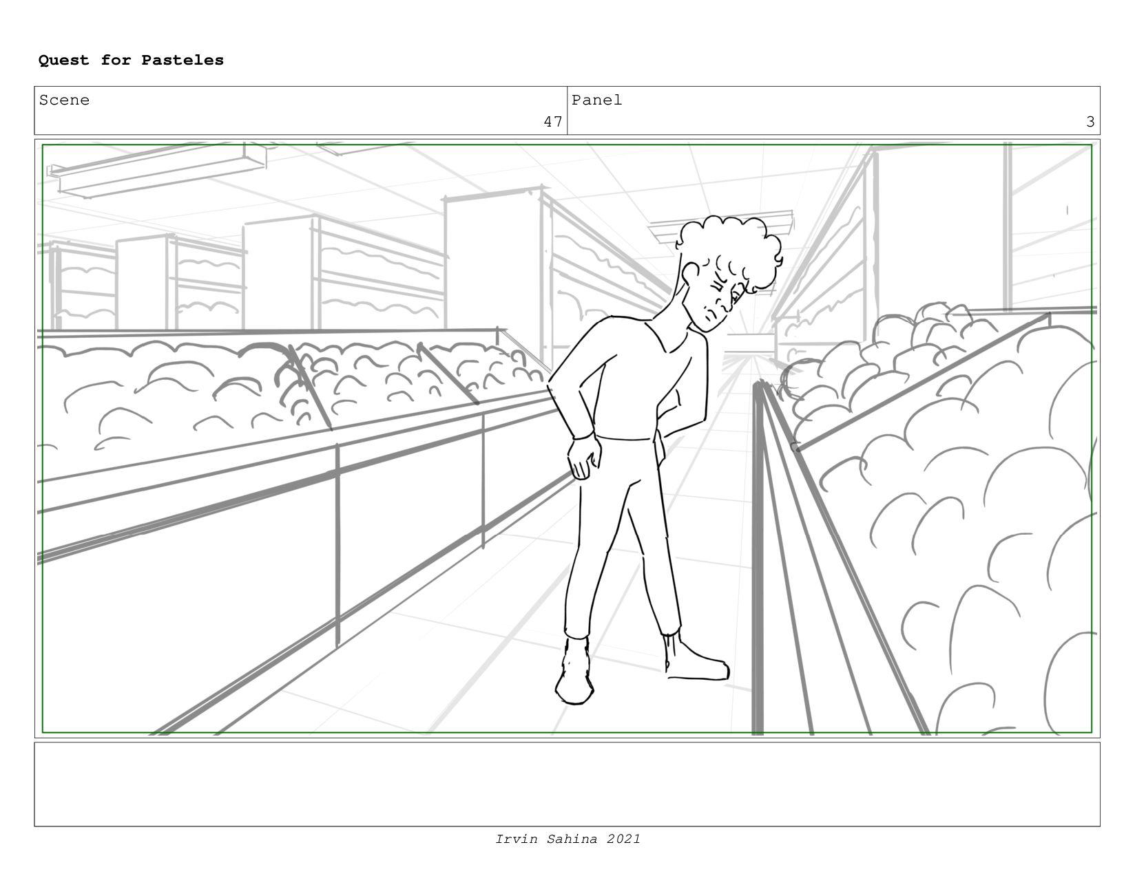 Scene 49 Panel 2 Quest for Pasteles Irvin Sahin...