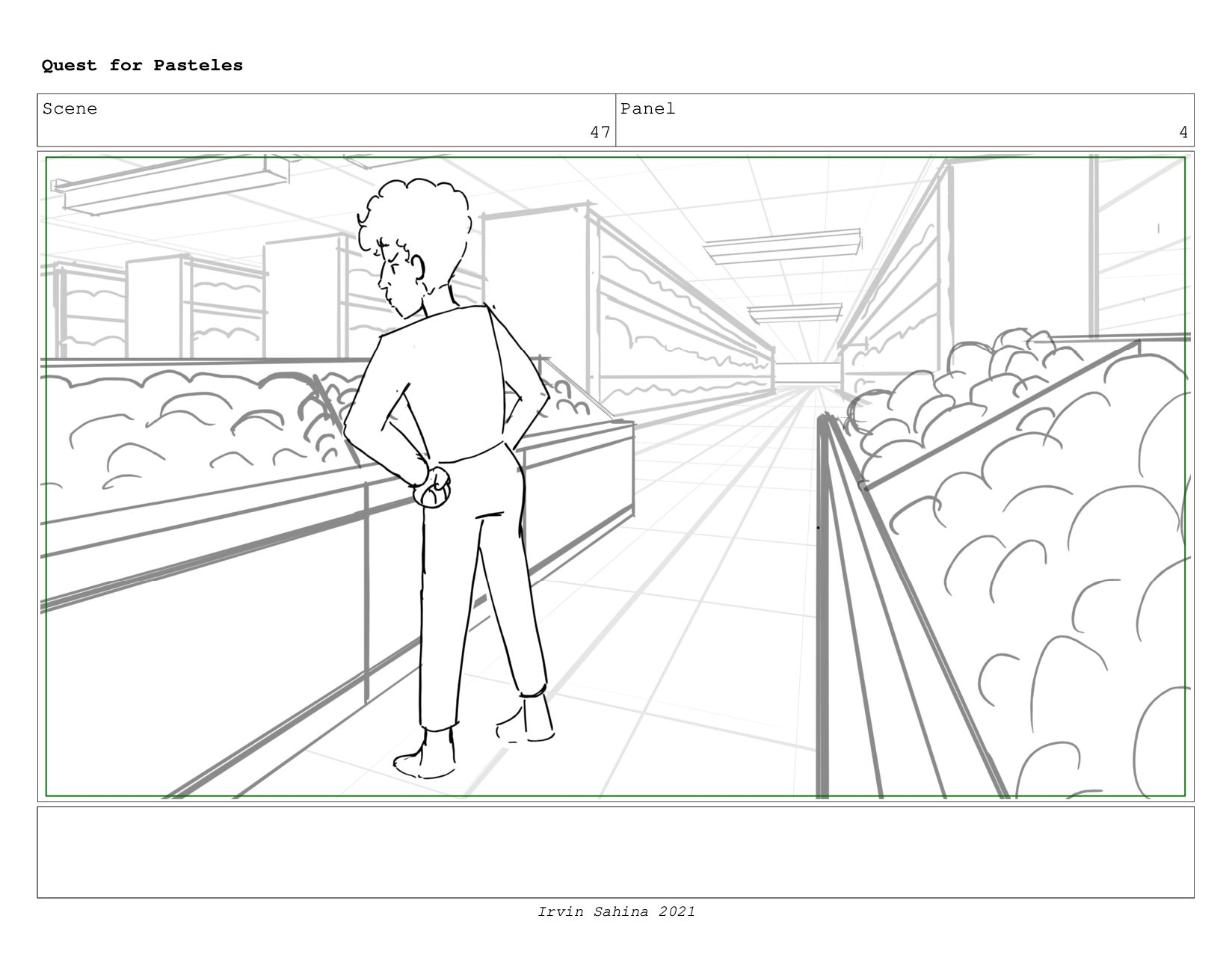 Scene 50 Panel 1 Quest for Pasteles Irvin Sahin...