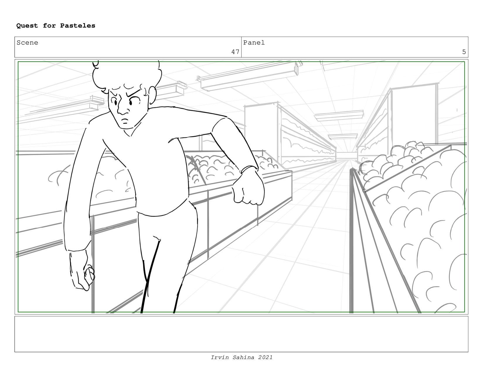 Scene 51 Panel 1 Quest for Pasteles Irvin Sahin...