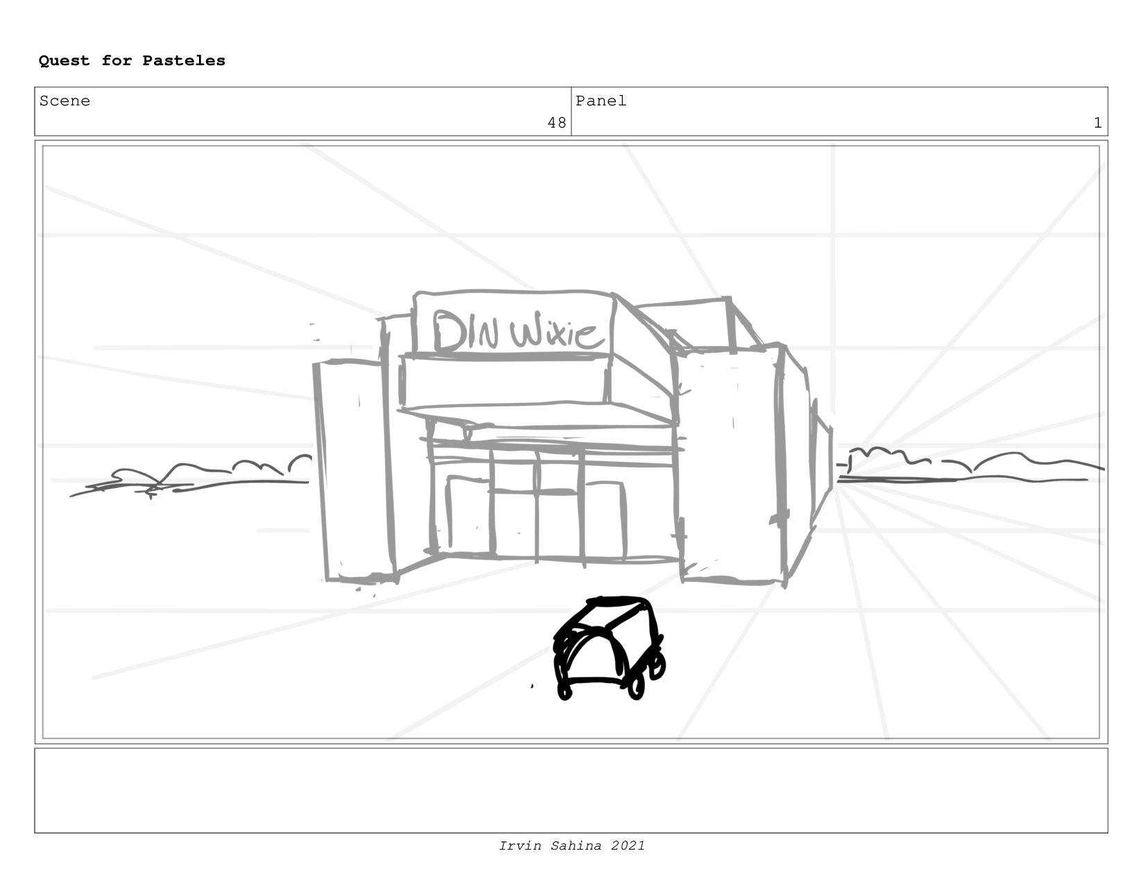 Scene 51 Panel 2 Quest for Pasteles Irvin Sahin...