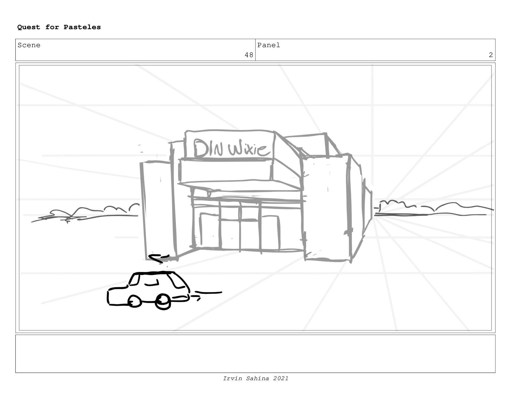 Scene 52 Panel 1 Quest for Pasteles Irvin Sahin...