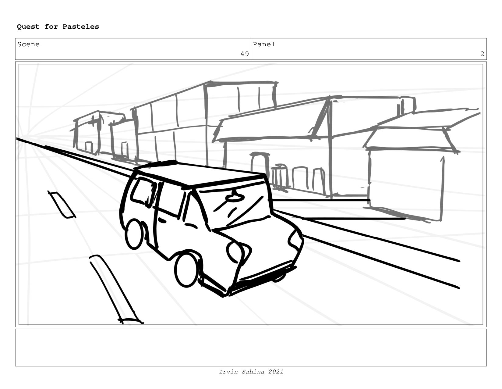 Scene 53 Panel 2 Quest for Pasteles Irvin Sahin...