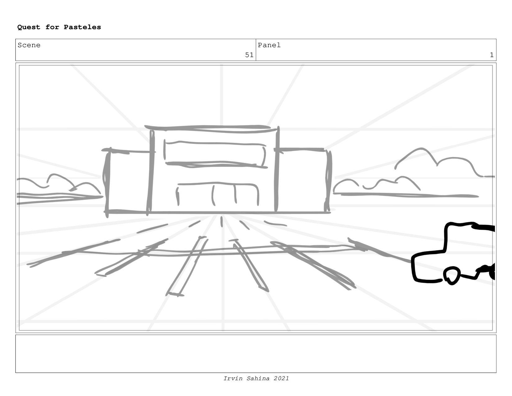 Scene 53 Panel 4 Quest for Pasteles Irvin Sahin...