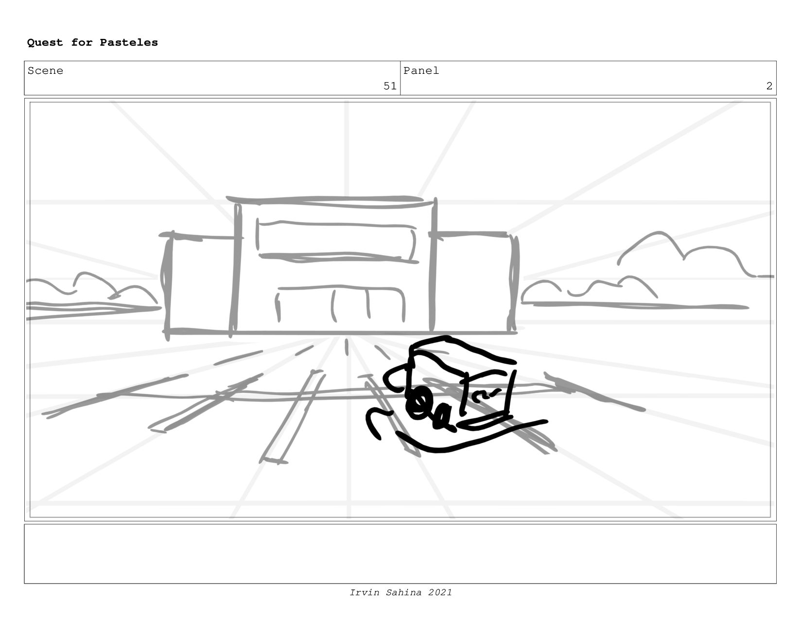 Scene 53 Panel 5 Quest for Pasteles Irvin Sahin...