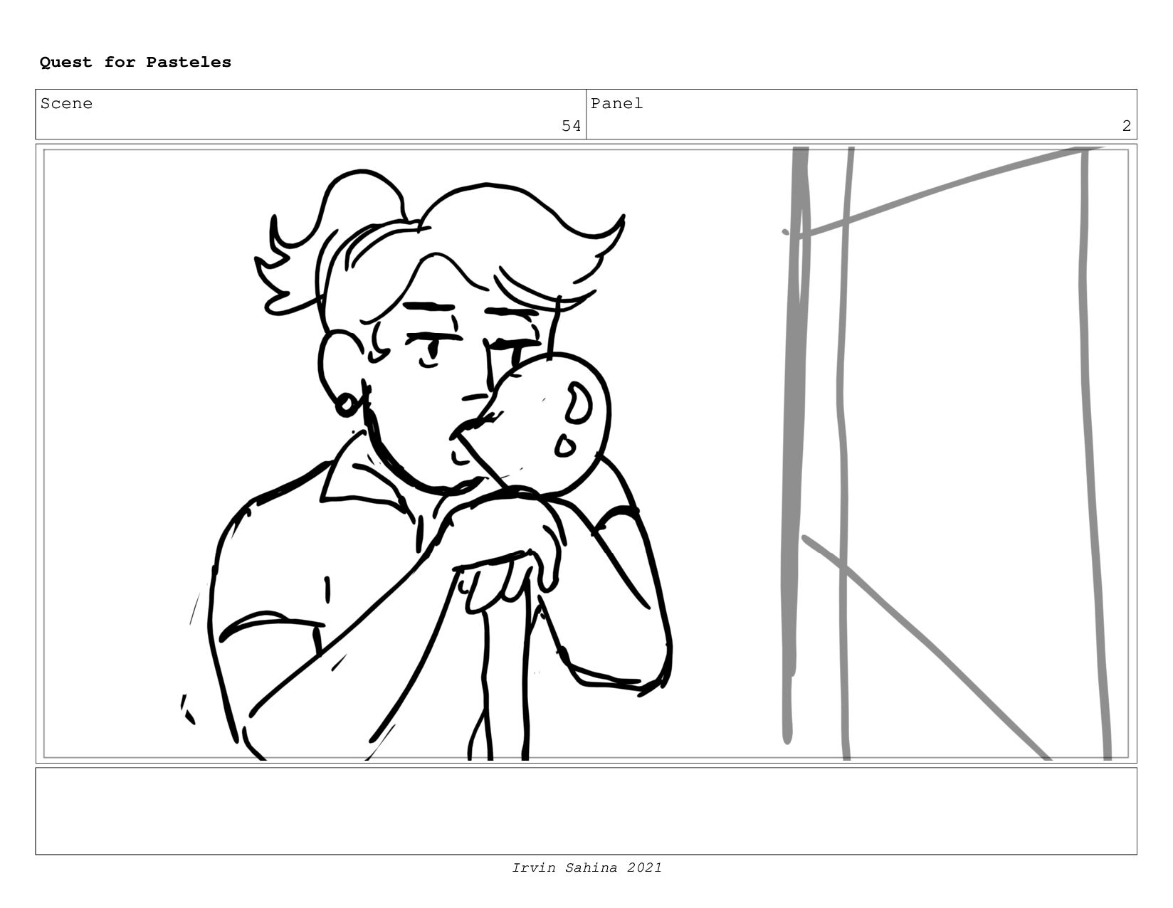 Scene 56 Panel 2 Quest for Pasteles Irvin Sahin...