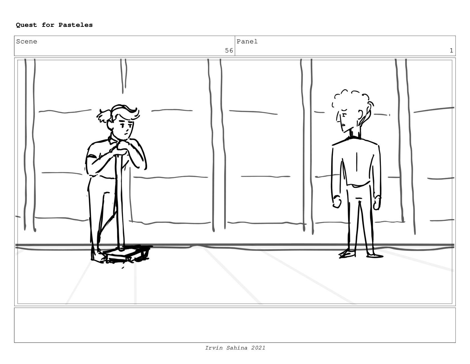 Scene 56 Panel 7 Quest for Pasteles Irvin Sahin...