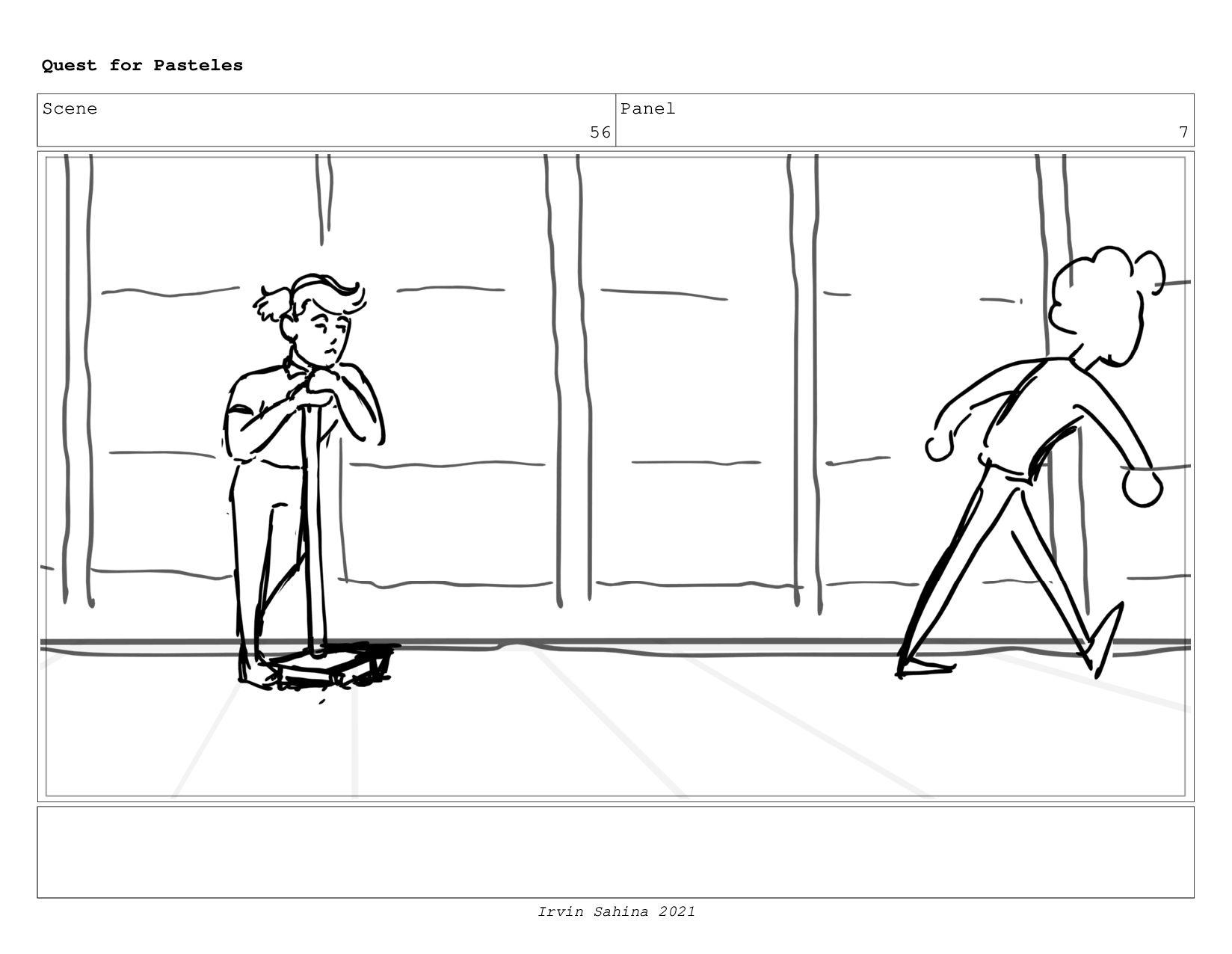 Scene 59 Panel 1 Quest for Pasteles Irvin Sahin...