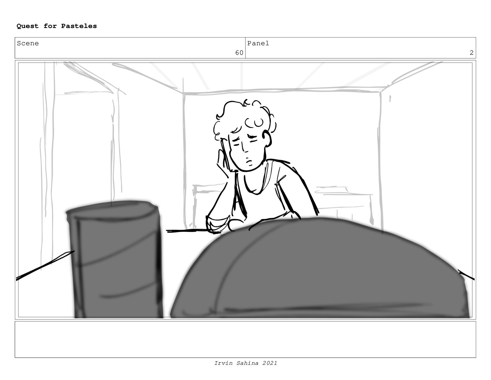 Scene 61 Panel 6 Quest for Pasteles Irvin Sahin...