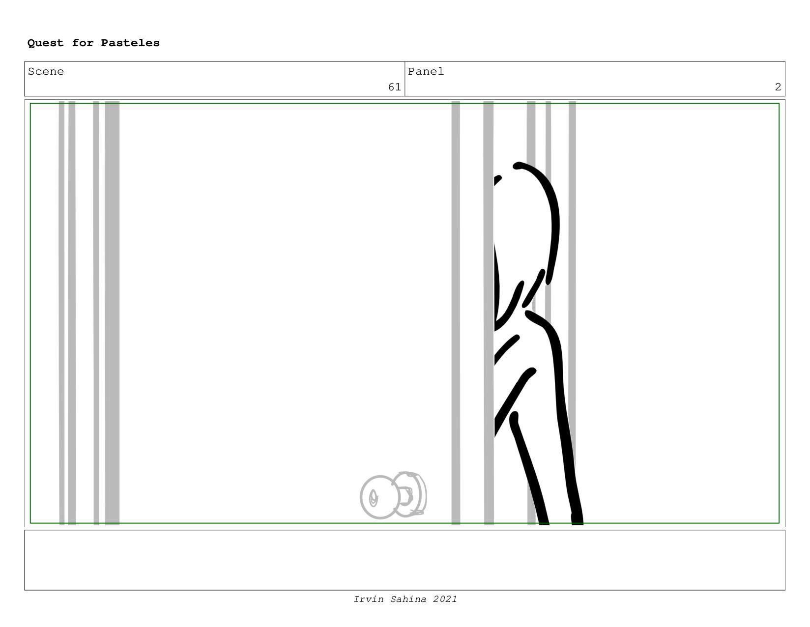 Scene 62 Panel 2 Quest for Pasteles Irvin Sahin...