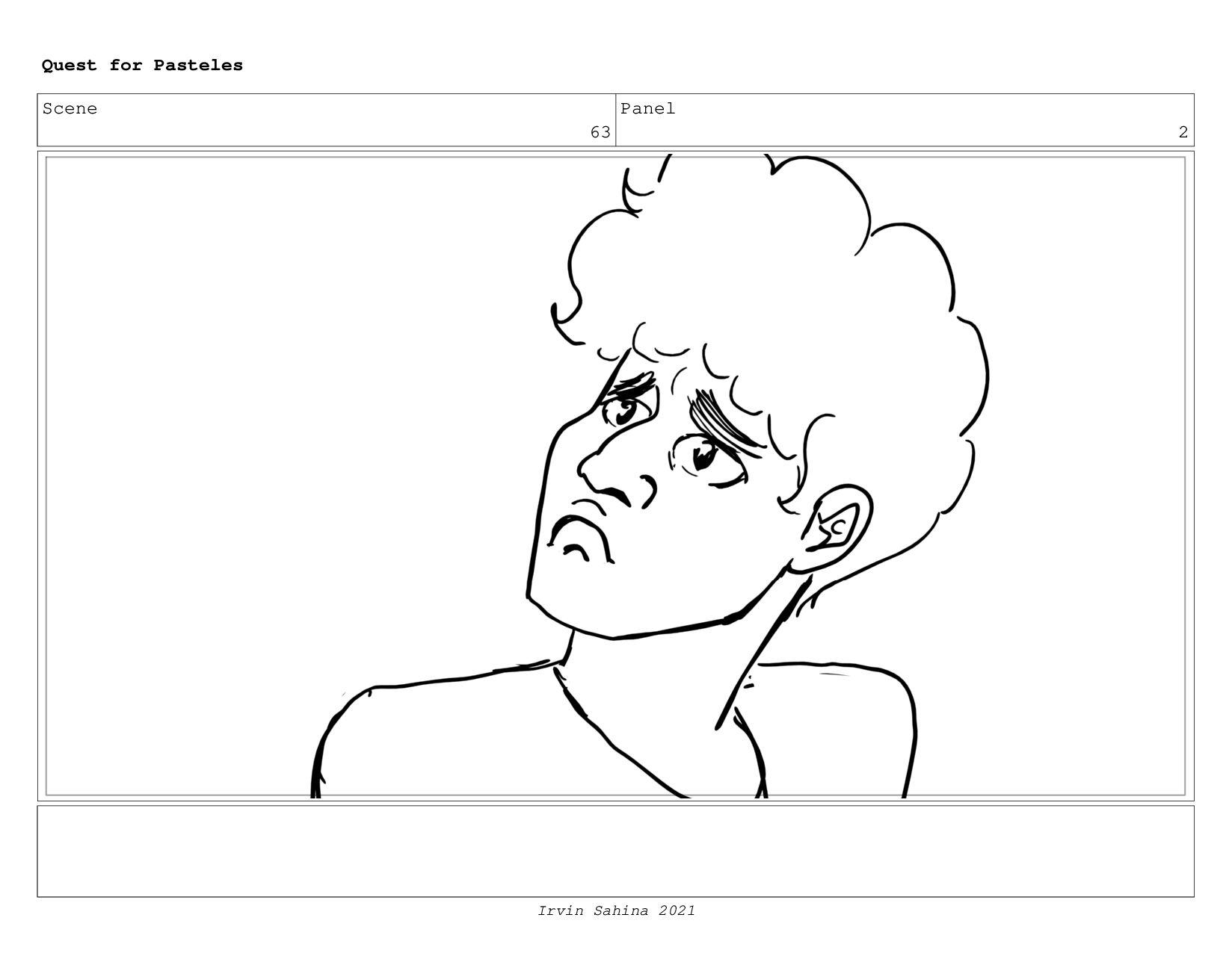 Scene 67 Panel 1 Quest for Pasteles Irvin Sahin...