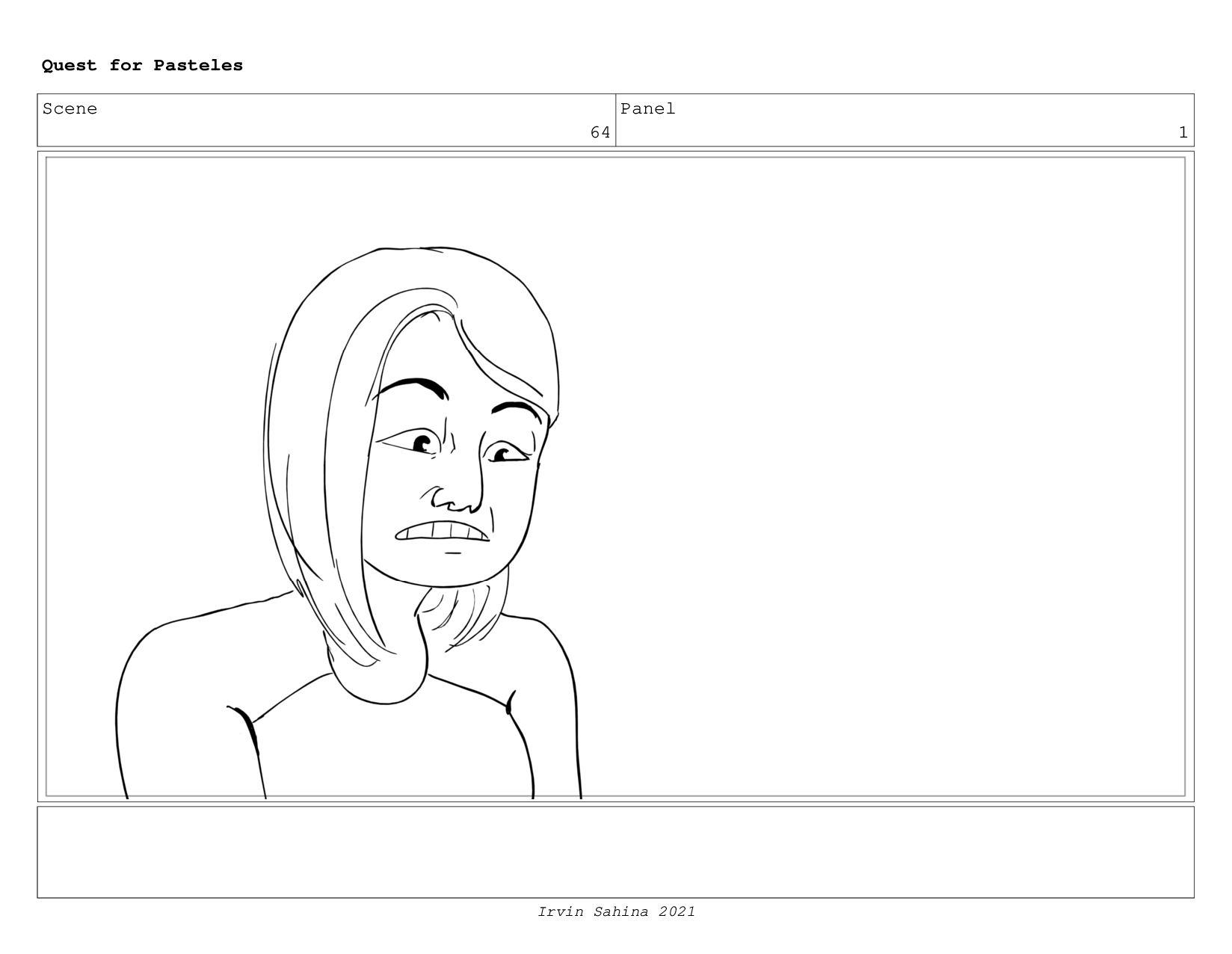 Scene 67 Panel 2 Quest for Pasteles Irvin Sahin...