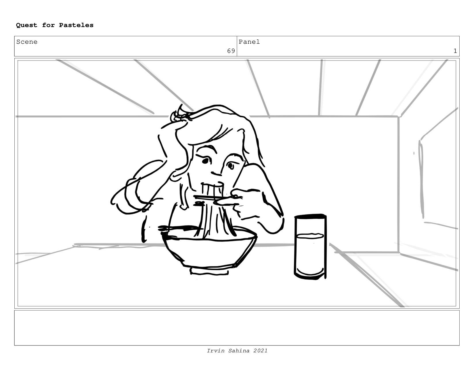 Scene 71 Panel 5 Quest for Pasteles Irvin Sahin...