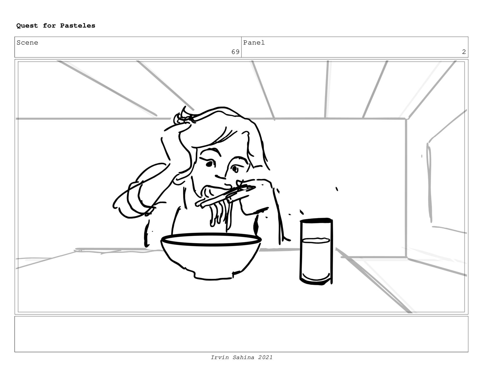 Scene 71 Panel 6 Quest for Pasteles Irvin Sahin...