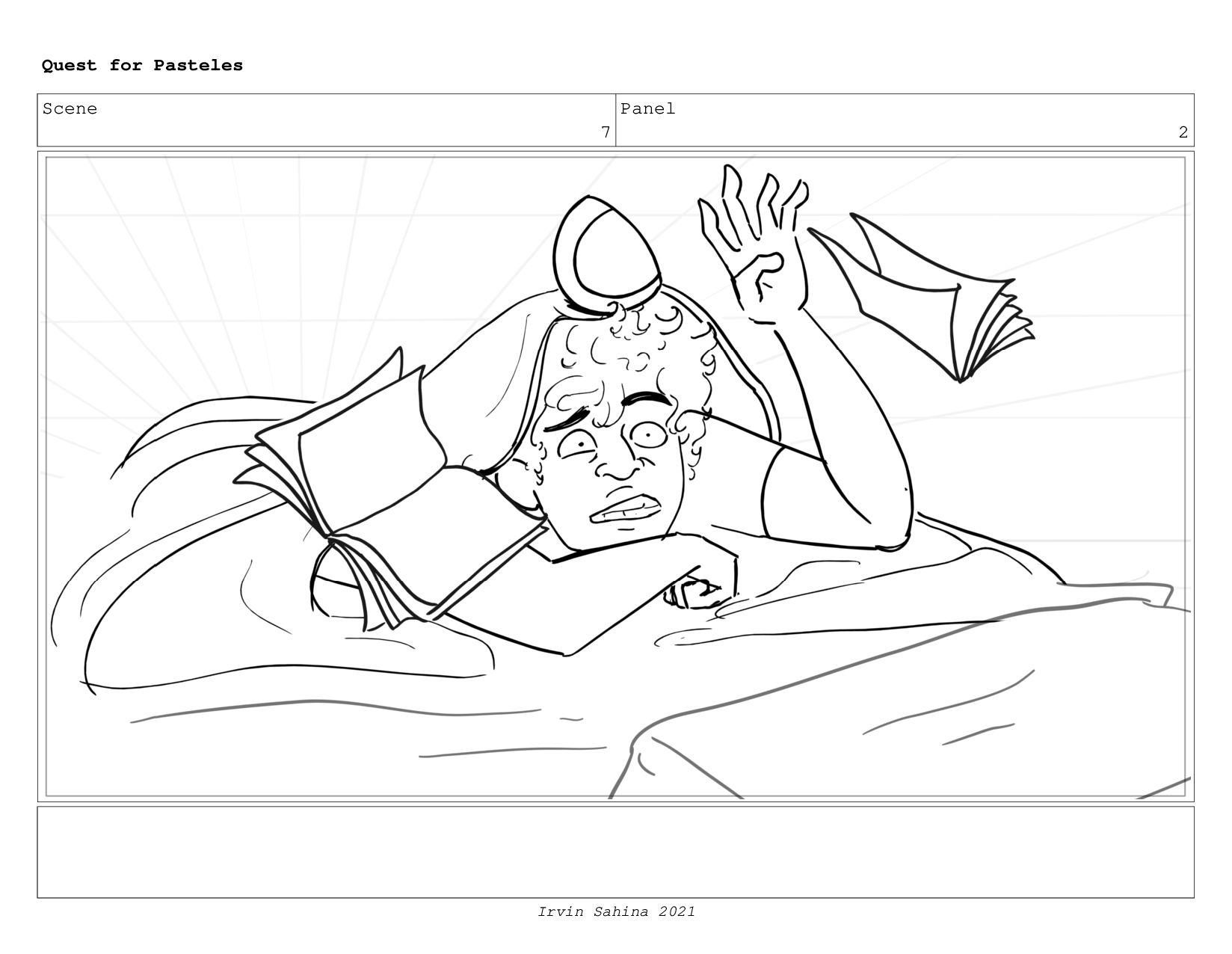Scene 6 Panel 6 Quest for Pasteles Irvin Sahina...