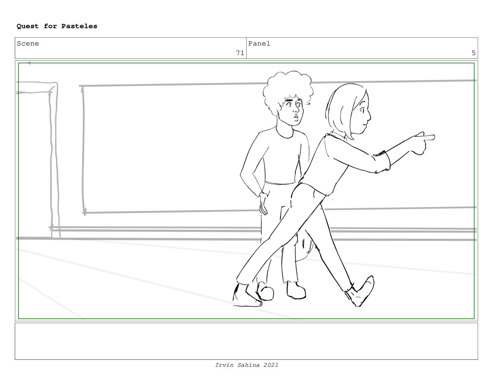 Scene 75 Panel 1 Quest for Pasteles Irvin Sahin...