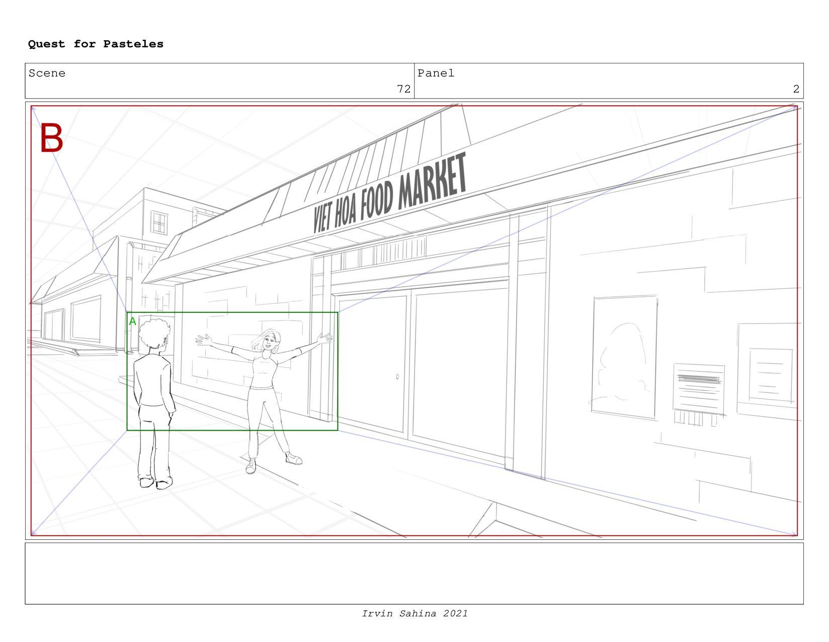 Scene 77 Panel 1 Quest for Pasteles Irvin Sahin...