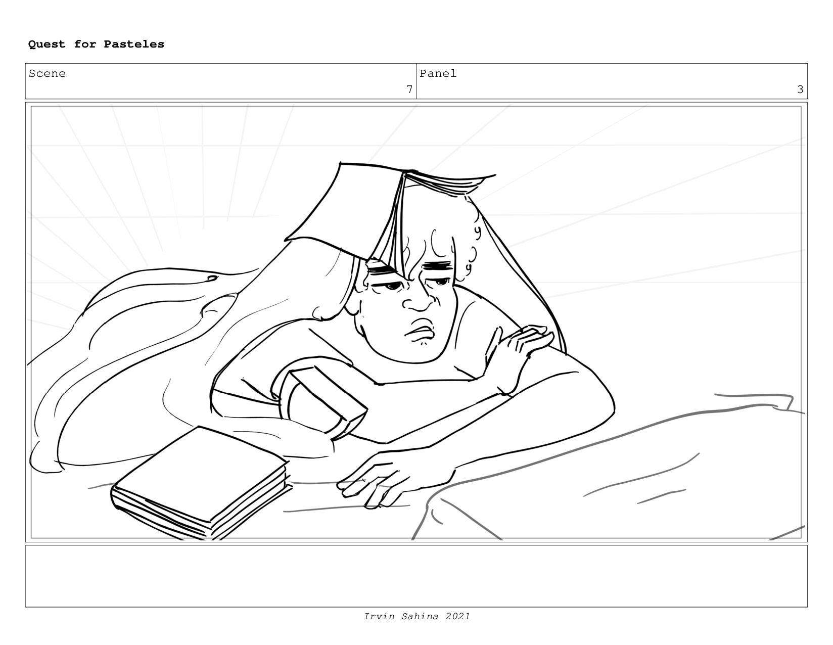 Scene 6 Panel 7 Quest for Pasteles Irvin Sahina...