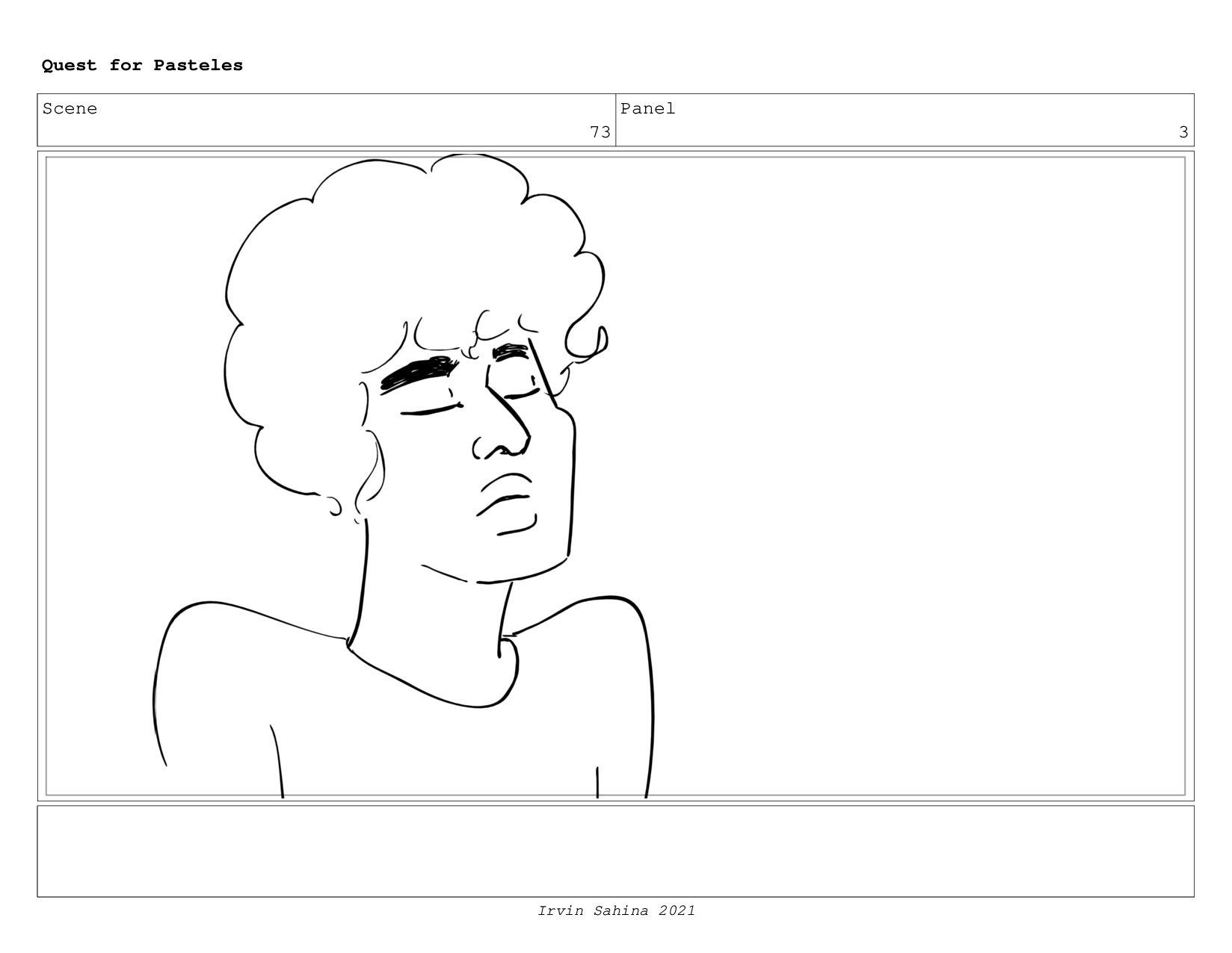 Scene 77 Panel 5 Quest for Pasteles Irvin Sahin...