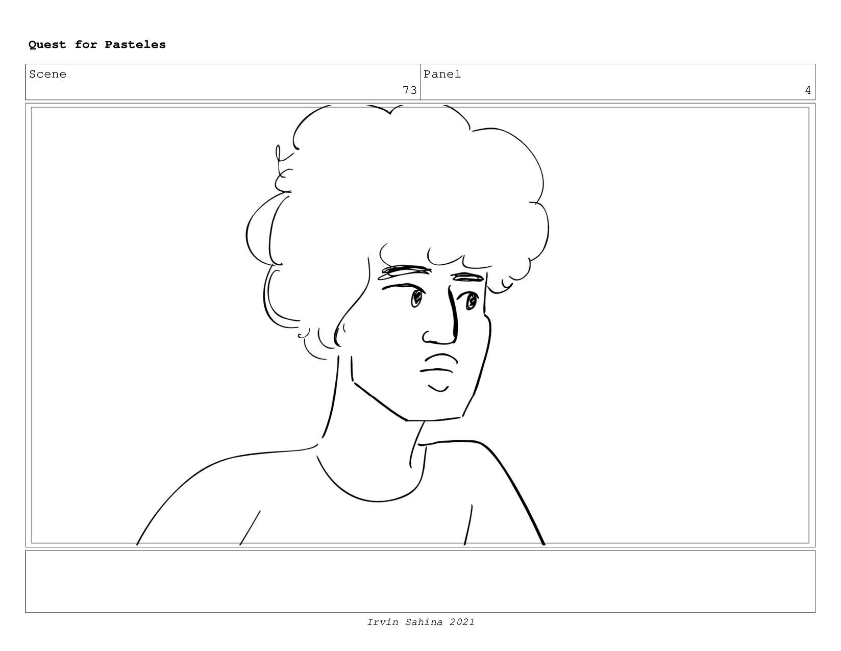 Scene 77 Panel 6 Quest for Pasteles Irvin Sahin...