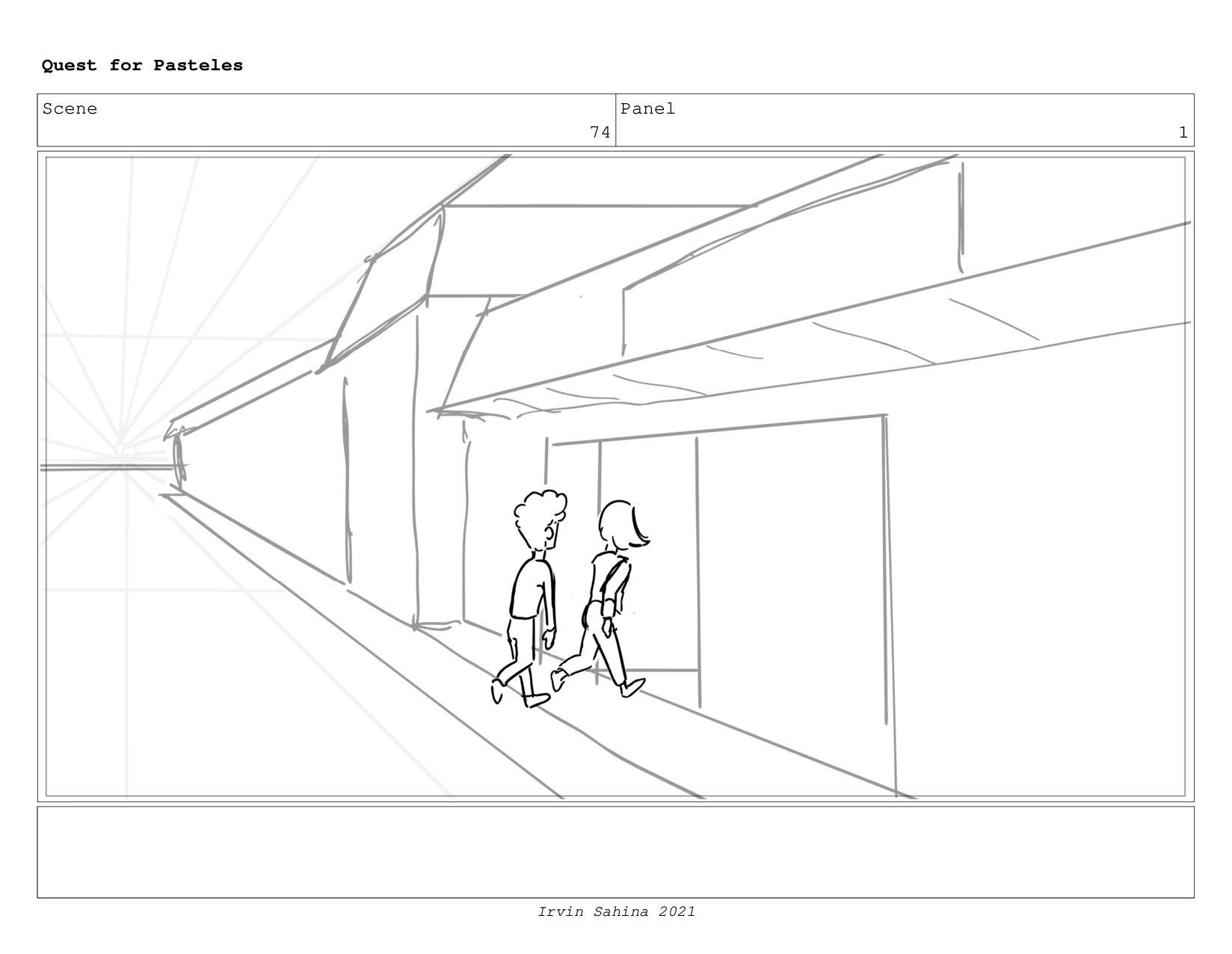 Scene 77 Panel 7 Quest for Pasteles Irvin Sahin...