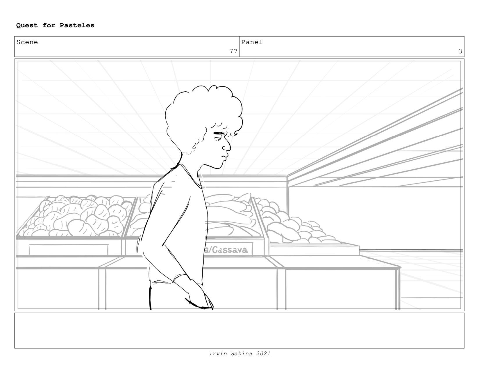 Scene 79 Panel 1 Quest for Pasteles Irvin Sahin...